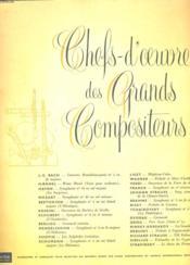 Les Grands compositeurs - Couverture - Format classique