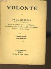 Volonte - Couverture - Format classique