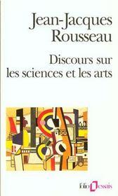 Discours sur les sciences et les arts - Intérieur - Format classique