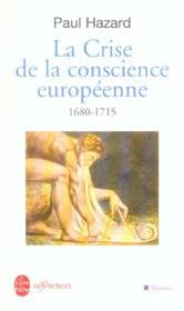 La crise de la conscience européenne - Couverture - Format classique