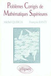 Problemes Corriges Math Sup - Intérieur - Format classique