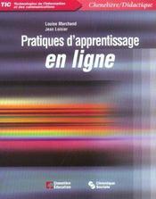 Pratiques D'Apprentissage En Ligne - Intérieur - Format classique