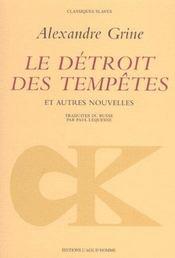 Detroit Des Tempetes (Le) - Intérieur - Format classique
