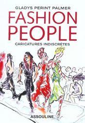 Fashion People ; Caricatures Indiscretes - Intérieur - Format classique