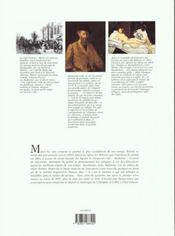 Manet - 4ème de couverture - Format classique