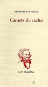 Carnets Du Reclus - Couverture - Format classique