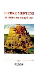 Pierre mertens - Couverture - Format classique