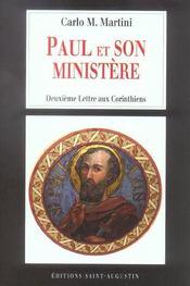 Paul et son ministere deuxieme lettres aux corinthiens - Intérieur - Format classique