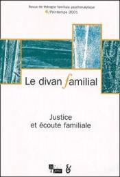 Revue Le Divan Familial N.6 - Couverture - Format classique