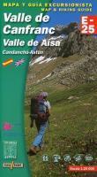 E-25 valle de canfranc/valle des aisa - 1/25.000 - Couverture - Format classique