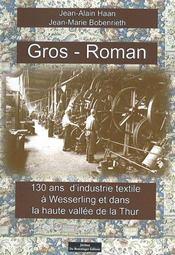 Gros roman - Intérieur - Format classique