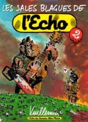 Les sales blagues de l'Echo t.2 - Couverture - Format classique