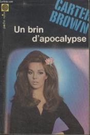 Collection La Poche Noire. N° 77 Un Brin Dapocalypse. - Couverture - Format classique