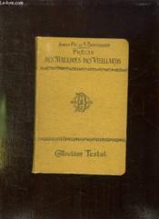 Precis Des Maladies Des Vieillard. - Couverture - Format classique