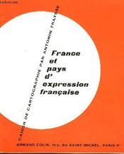Cahier De Cartographie - France Est Pays D'Expression Francaise - Couverture - Format classique