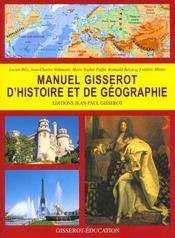 Manuel Gisserot D'Histoire Et Geographie - Intérieur - Format classique