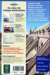 Dublin (3e édition) - 4ème de couverture - Format classique