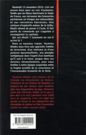 Khalil - 4ème de couverture - Format classique