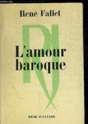 L Amour Baroque - Couverture - Format classique