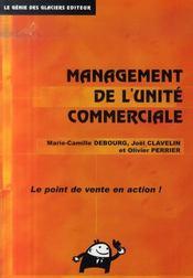Management de l'unité commerciale ; livre - Intérieur - Format classique