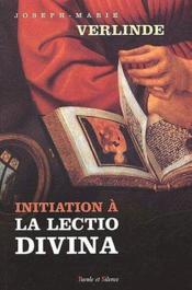 Initiation à la lectio divina - Couverture - Format classique