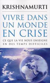 Vivre dans un monde en crise - Intérieur - Format classique