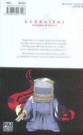 Kekkaishi t.8 - 4ème de couverture - Format classique