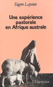 Experience Pastorale En Afrique Australe ... - Couverture - Format classique