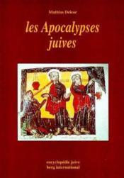 Les apocalypses juives - Couverture - Format classique
