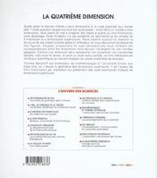 La quatrieme dimension - 4ème de couverture - Format classique