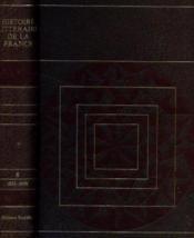 Histoire littéraire de la france tome 8: 1830 -1848 - Couverture - Format classique