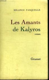 Les Amants De Kalyros. - Couverture - Format classique