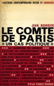 Le comte de Paris / Bourdier, Jean / Réf16514 - Couverture - Format classique