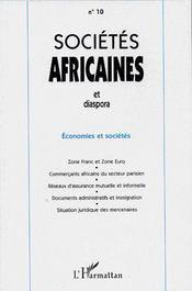 Économies et sociétés - Couverture - Format classique