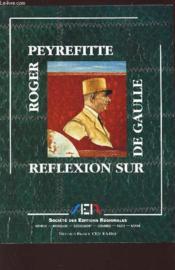 Reflexion Sur De Gaulle - Couverture - Format classique