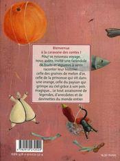 Histoire de fruits et legumes - 4ème de couverture - Format classique
