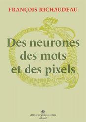 Des neurones, des mots et des pixels - Couverture - Format classique