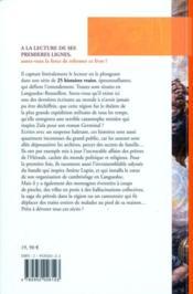 Histoires vraies en Languedoc-Roussillon - 4ème de couverture - Format classique