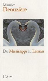 Du Leman au Mississippi - Couverture - Format classique