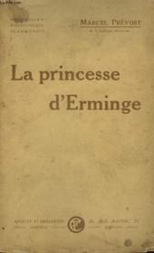 La Princesse D'Erminge. - Couverture - Format classique