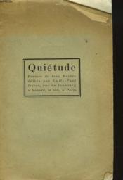 Quietude - Couverture - Format classique