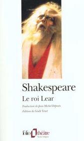 La Tragedie Du Roi Lear - Intérieur - Format classique