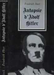 Autopsie D Adolf Hitler - Couverture - Format classique