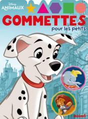 Gommettes pour les petits ; Disney animaux ; dalmatien - Couverture - Format classique