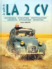 Citroen 2cv - le guide - Intérieur - Format classique