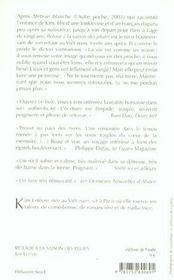 Retour A La Saison Des Pluies - 4ème de couverture - Format classique