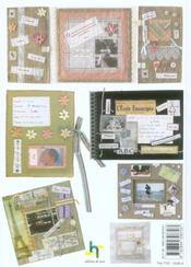 Souvenirs de famille. scrapbooking et creations textiles - 4ème de couverture - Format classique