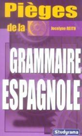 Pieges de la grammaire espagnole - Couverture - Format classique