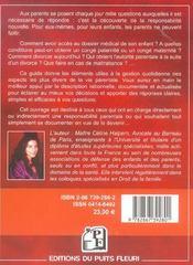Guide juridique et pratique des parents. maternité, obligations alimentaires, autorité parentale, no - 4ème de couverture - Format classique