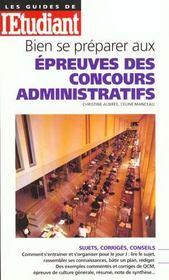 Bien Se Preparer Aux Epreuves Des Concours Administratifs 99 - Intérieur - Format classique